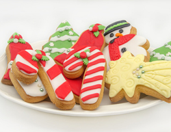 christmas cookies at rosen inn