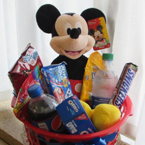 Big Mickey with candy