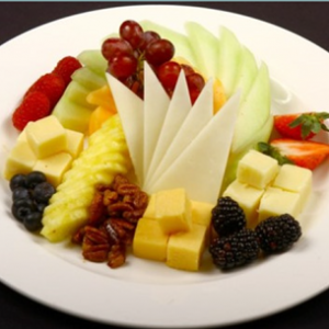 fruit and cheese-plate