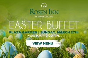 rosen inn easter buffet