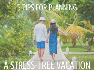 5 TIPS FOR PLANNING