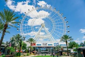 ICON Park on International Drive, within minutes of Rosen Inn at Pointe Orlando