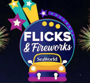 SeaWorld's first ever drive-in movie series.