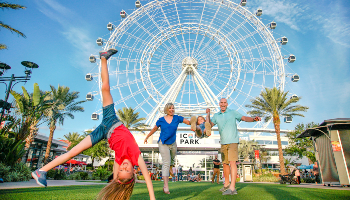 ICON Park Wheel with Family