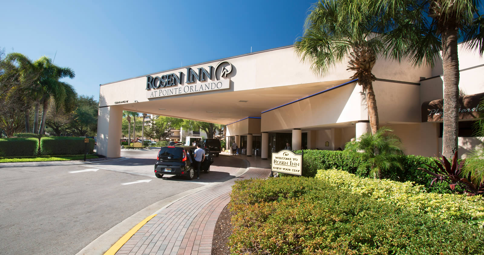 International Drive Hotel At Pointe Orlando Orlando Best Value Hotel