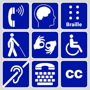 9 Common Symbols for Disabilities