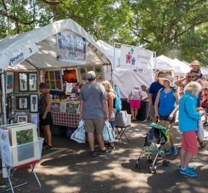 Winter Park Sidewalk Art Festival